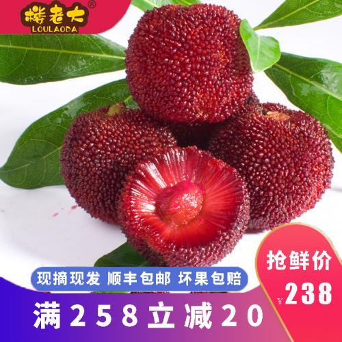 仙居杨梅新鲜孕妇水果现摘现发正宗农家东魁杨梅6斤装 一级品 单果19克以下